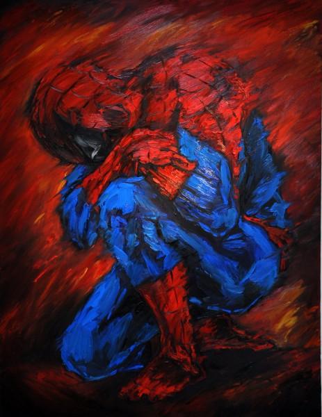 Spiderman 2 170x130 ulje na platnu_resize