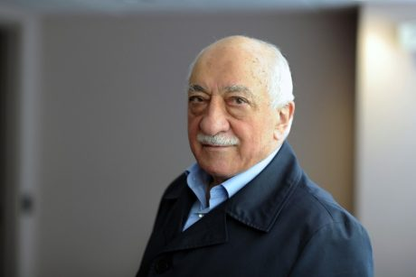 """A handout picture released by Zaman Daily shows exiled Turkish Muslim preacher Fethullah Gulen at his residence on September 24, 2013 in Saylorsburg, Pennsylvania. Gulen, the exiled Muslim cleric at the heart of a bitter feud with Turkish Prime Minister Recep Tayyip Erdogan, denied on January 27, 2014 allegations that he was behind a vast graft scandal roiling the government., Image: 183097988, License: Rights-managed, Restrictions: RESTRICTED TO EDITORIAL USE - MANDATORY CREDIT """"AFP PHOTO/ZAMAN DAILY/SELAHATTIN SEVI"""" - NO MARKETING NO ADVERTISING CAMPAIGNS - DISTRIBUTED AS A SERVICE, Model Release: no, Credit line: Profimedia, AFP"""