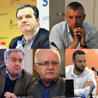 Класић, Станковић, Јањић, Диздаревић и Шарић на Конференцији у КЦНС