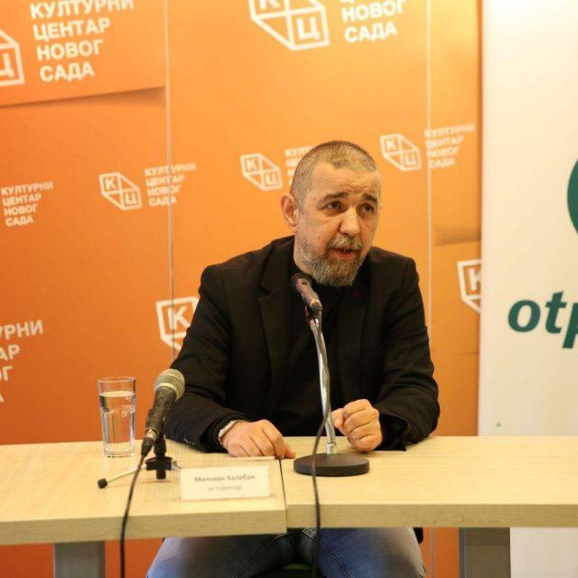 """Милован Балабан, сарадник КЦНС, гост РТС-а у емисији """"Храм"""""""