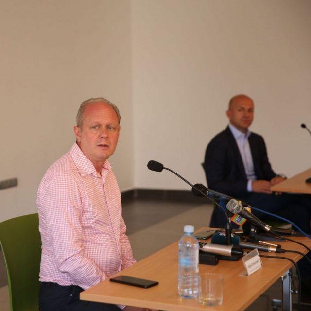 Одржана конференција за новинаре поводом реконструкције Летње сцене КЦНС