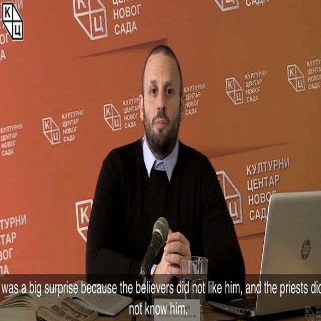 """Предавање Горана Шарића на тему """"Алојзије Степинац – светац или злочинац?"""" преведено на енглески језик"""